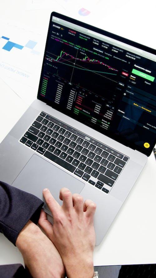 Kostenloses Stock Foto zu 4k-auflösung, aktienmarkt, animation