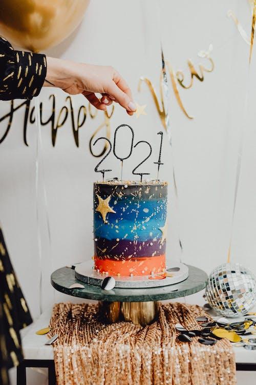 Fotos de stock gratuitas de 2021, adentro, Año nuevo, Arte y manualidades