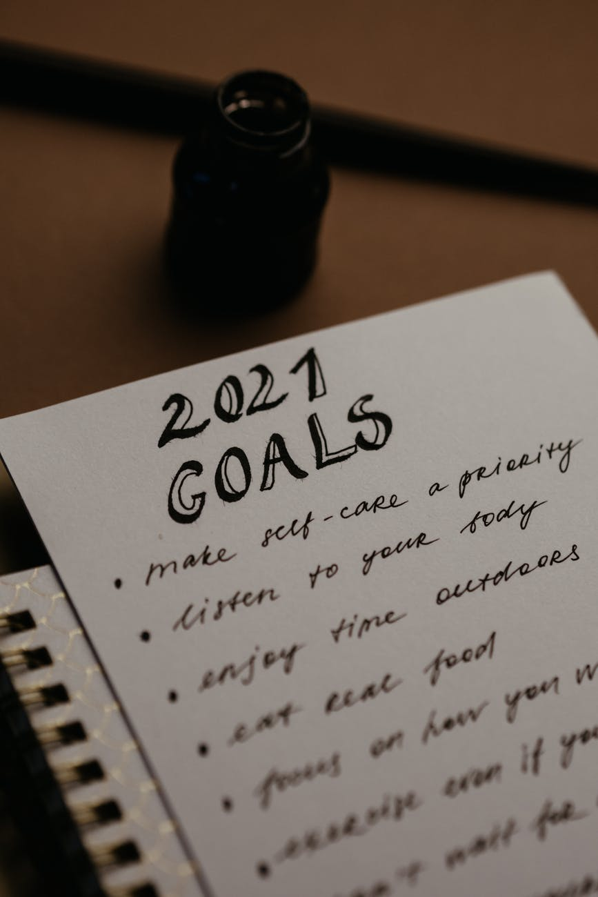 10 Ways to stay motivated. Write down your future goals