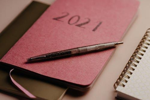 Black Pen on Pink Paper