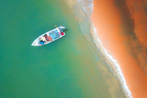 Foto d'estoc gratuïta de a l'aire lliure, acció, aigua, barca