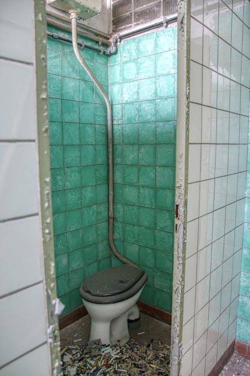 Abandoned Toilet Cubicle