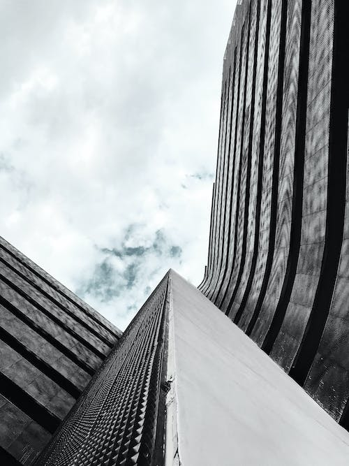 Free stock photo of architecture, modern, reflective, sky
