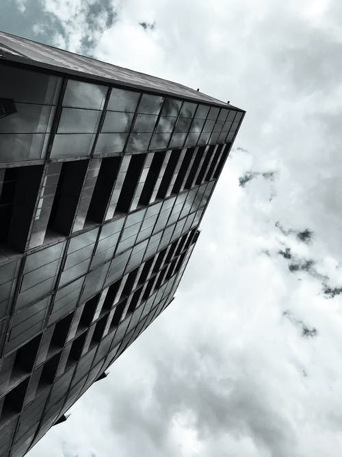 Free stock photo of architecture, modern, reflection, sky