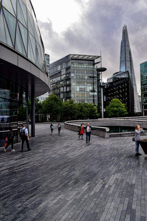 คลังภาพถ่ายฟรี ของ คน, ตึก, ตึกระฟ้า