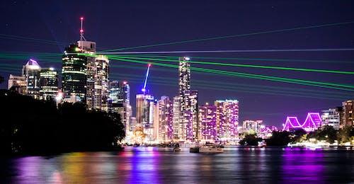 คลังภาพถ่ายฟรี ของ qld, กลางคืน, การท่องเที่ยว, การส่องแสง