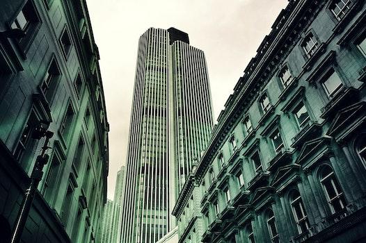 Free stock photo of city, sky, street, buildings