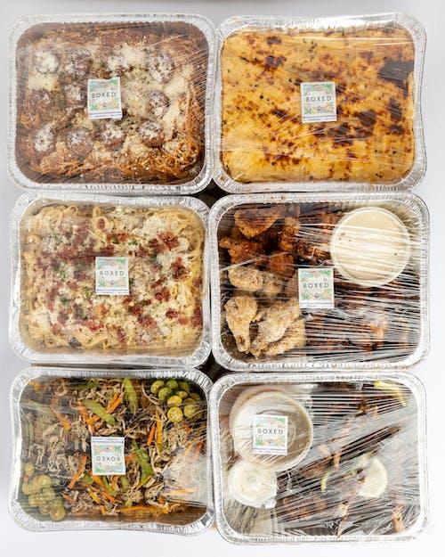 Δωρεάν στοκ φωτογραφιών με boxed foods ph, αγορά, γλυκός, δίσκος φαγητού
