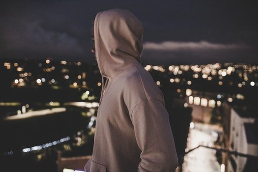 Free stock photo of light, man, person, night