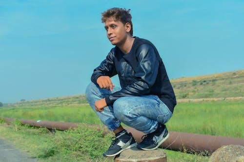 Foto stok gratis model boy
