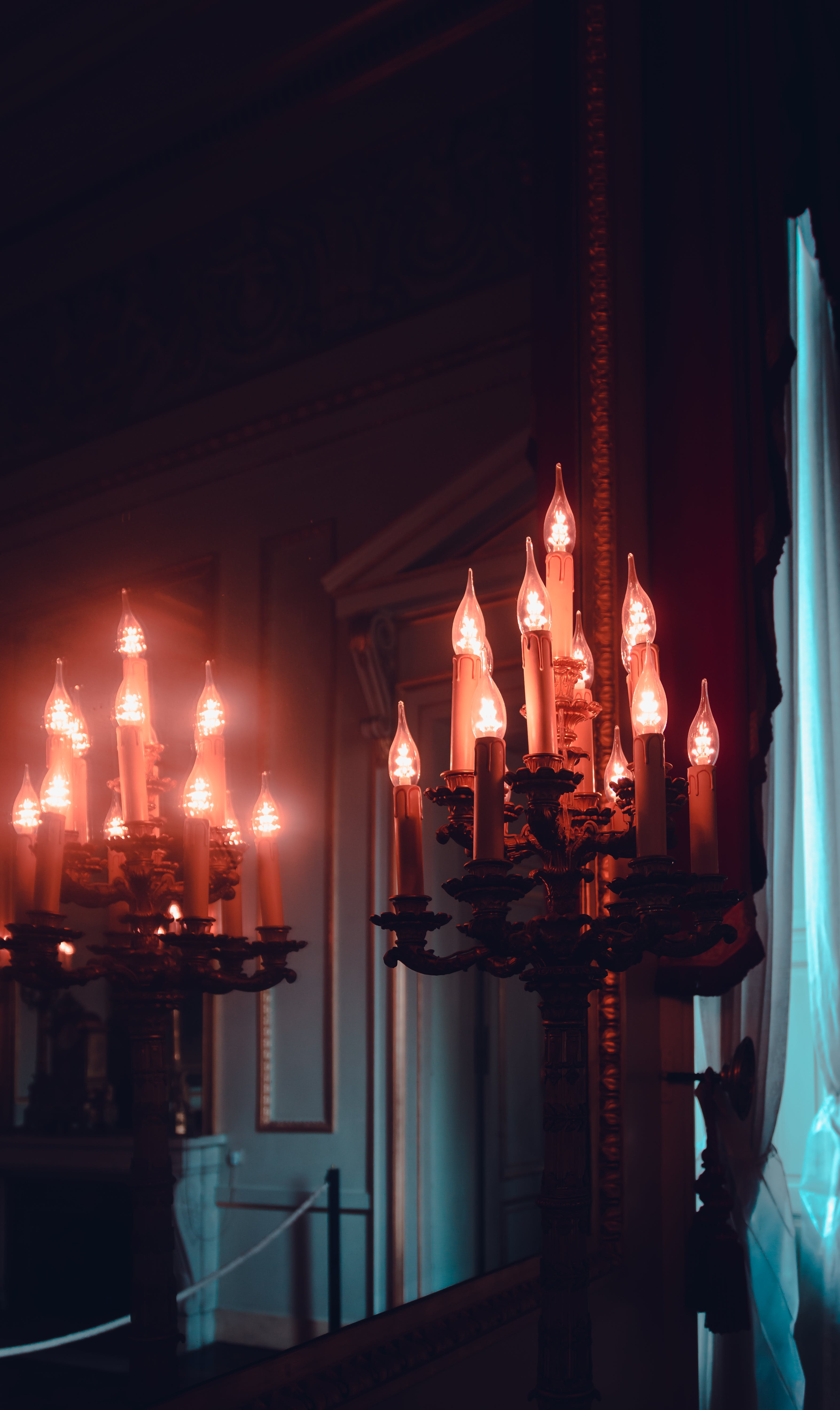 Free stock photo of candle, light and shadow, light reflections, reflection