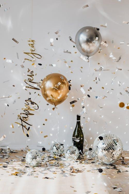 Kostenloses Stock Foto zu champagner, dezember, ferien