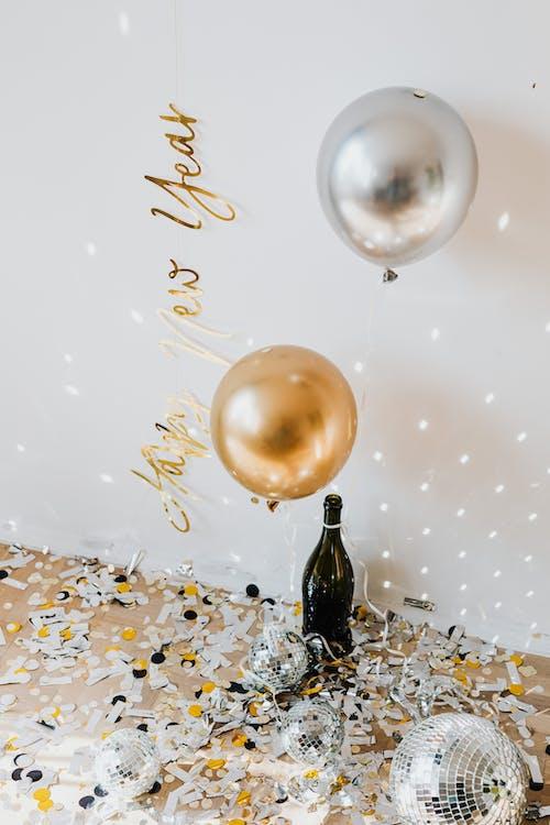 Gratis arkivbilde med champagne, dekorasjon, desember
