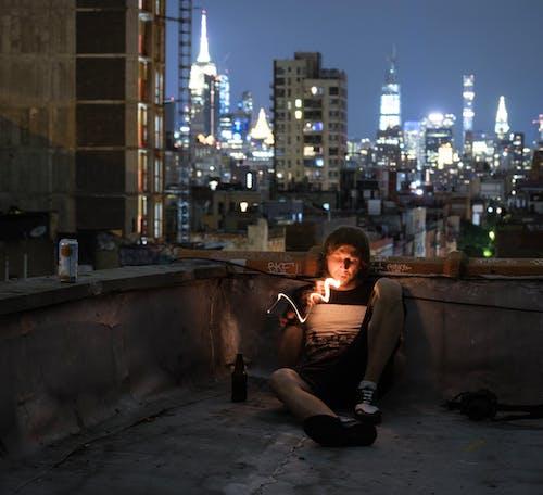 Free stock photo of cigarette, cyberpunk, lighter