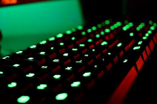 Turned on Mechanical Keyboard