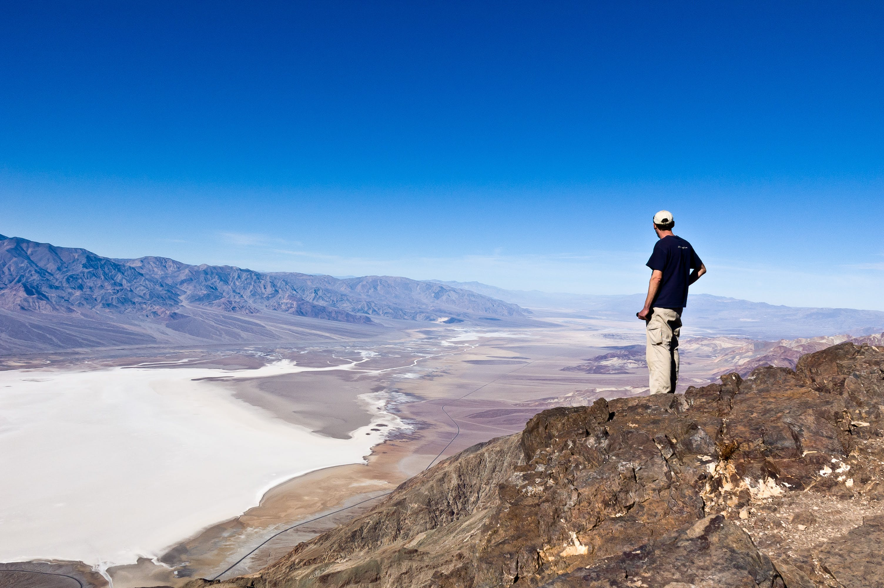 Free stock photo of dante's view, death valley, death valley national park, overlook