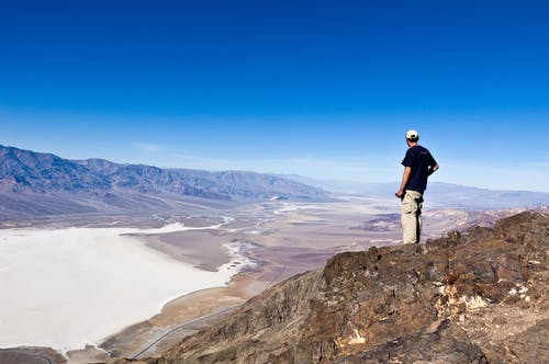 Free stock photo of dante's view, death valley, death valley national park