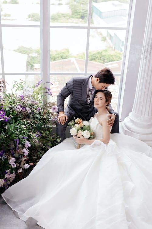 Kostenloses Stock Foto zu anmut, asiatisches paar, attraktiv