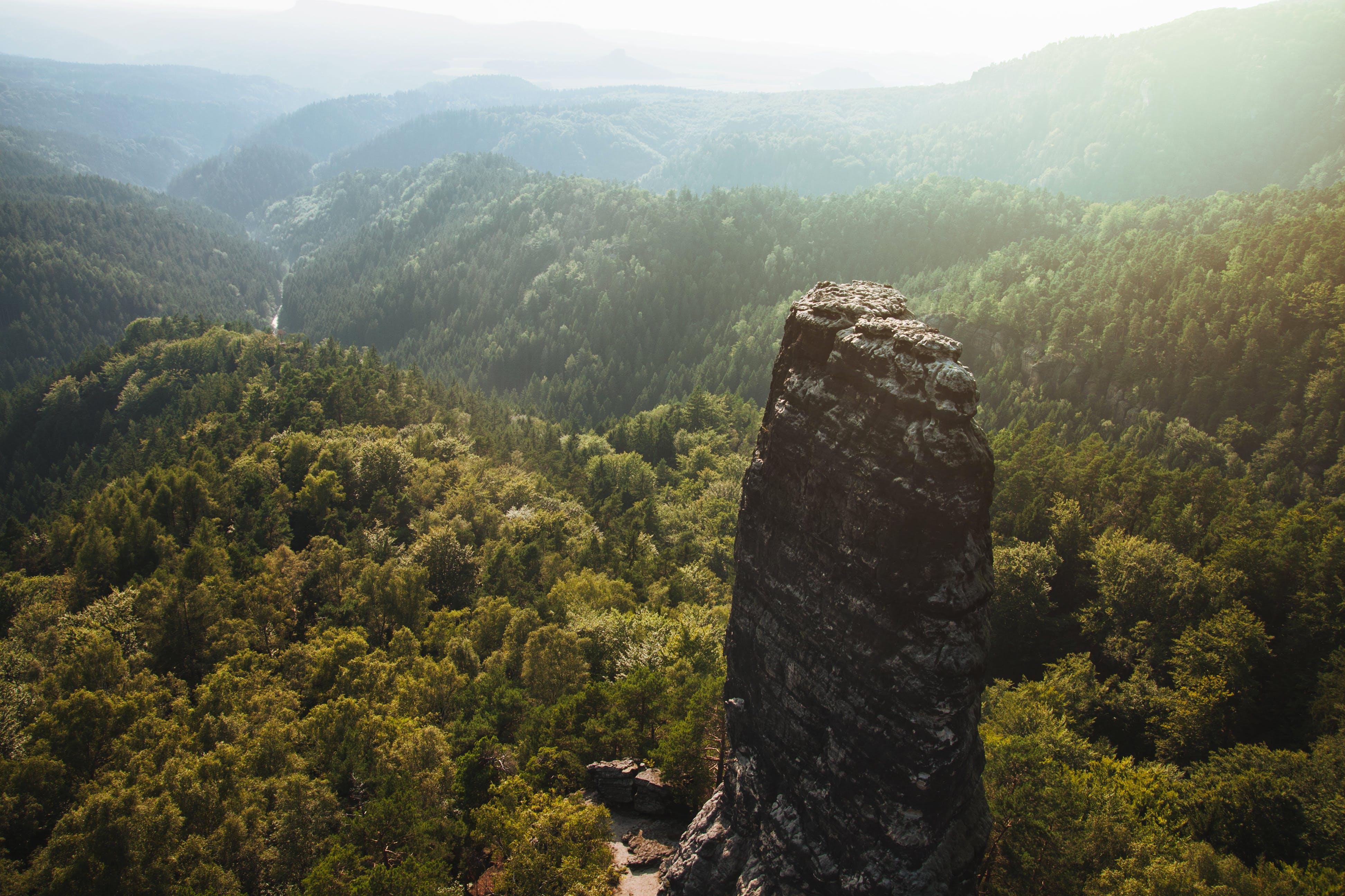 Free stock photo of landscape, mountains, nature, sunny