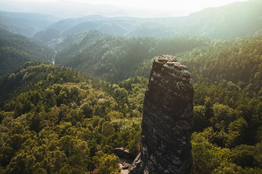 Kostenloses Stock Foto zu landschaft, berge, natur, sonnig