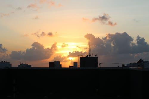 Бесплатное стоковое фото с архитектура, вечер, вода, восход