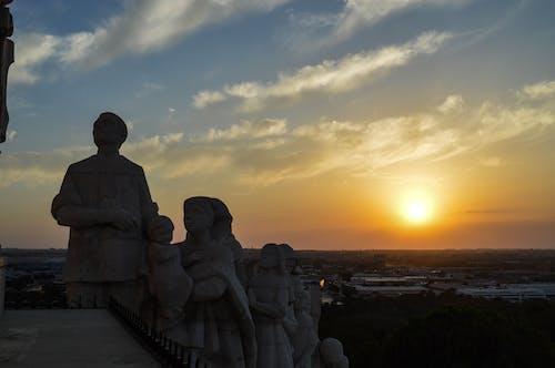 Darmowe zdjęcie z galerii z atardecer, zachód słońca