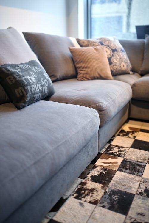cuscini, divano, interni