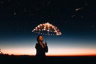 light, dawn, sky