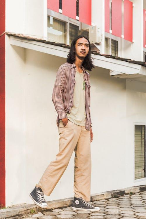 거리, 남자, 모델, 바지의 무료 스톡 사진