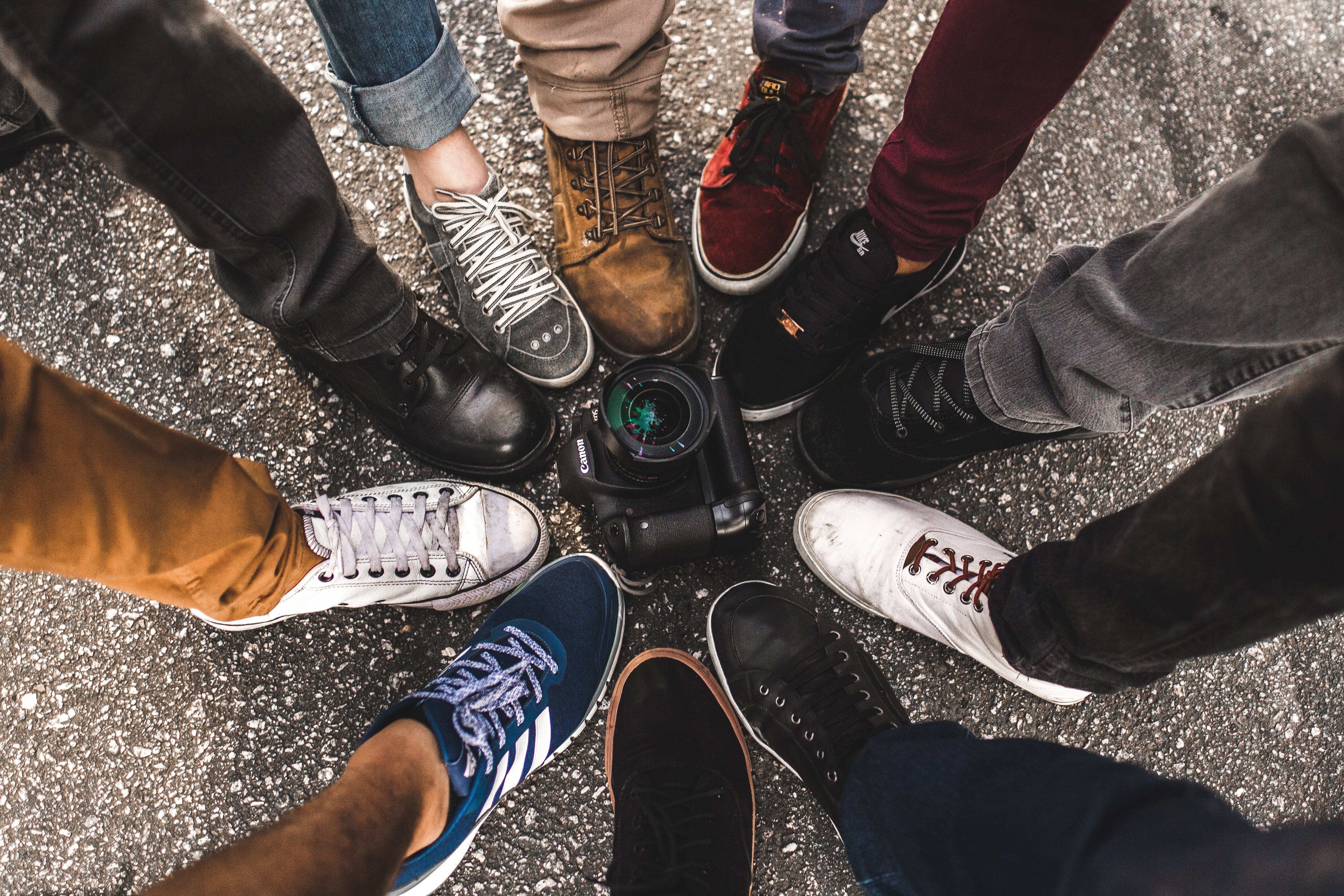 camera, feet, footwear