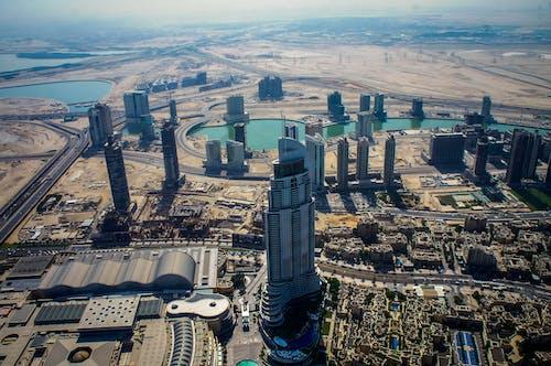 UAE, 건물, 건축의 무료 스톡 사진