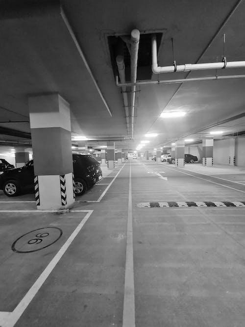 Free stock photo of basement, Car park basement, car parking, Car parking area