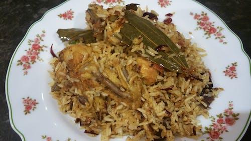 Free stock photo of biryani, Chicken Biryani, mix rice