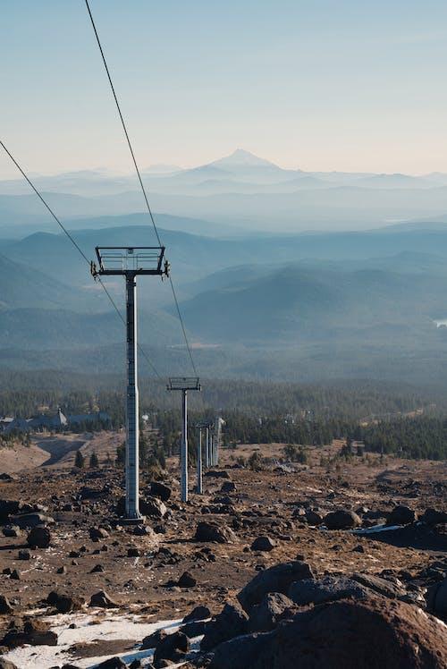 Gratis lagerfoto af afstand, alpin, bjerg, himmel