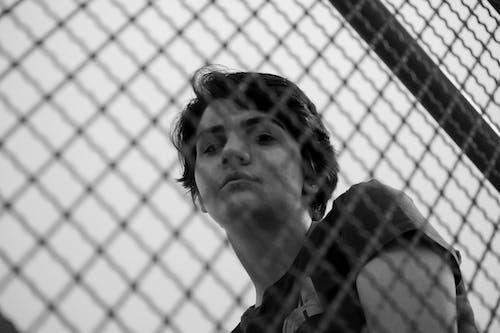 Ingyenes stockfotó álló kép, börtön, drót témában