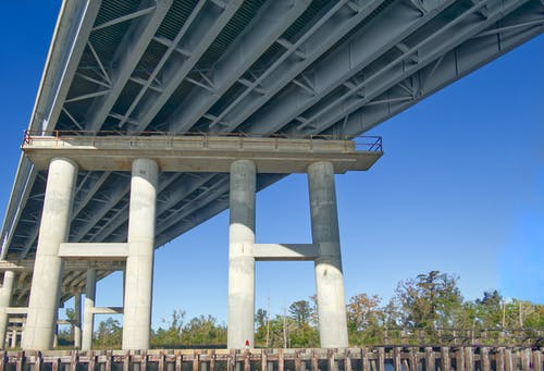 Free stock photo of bridge, Bridge Column, Bridge Pile, Bridge support