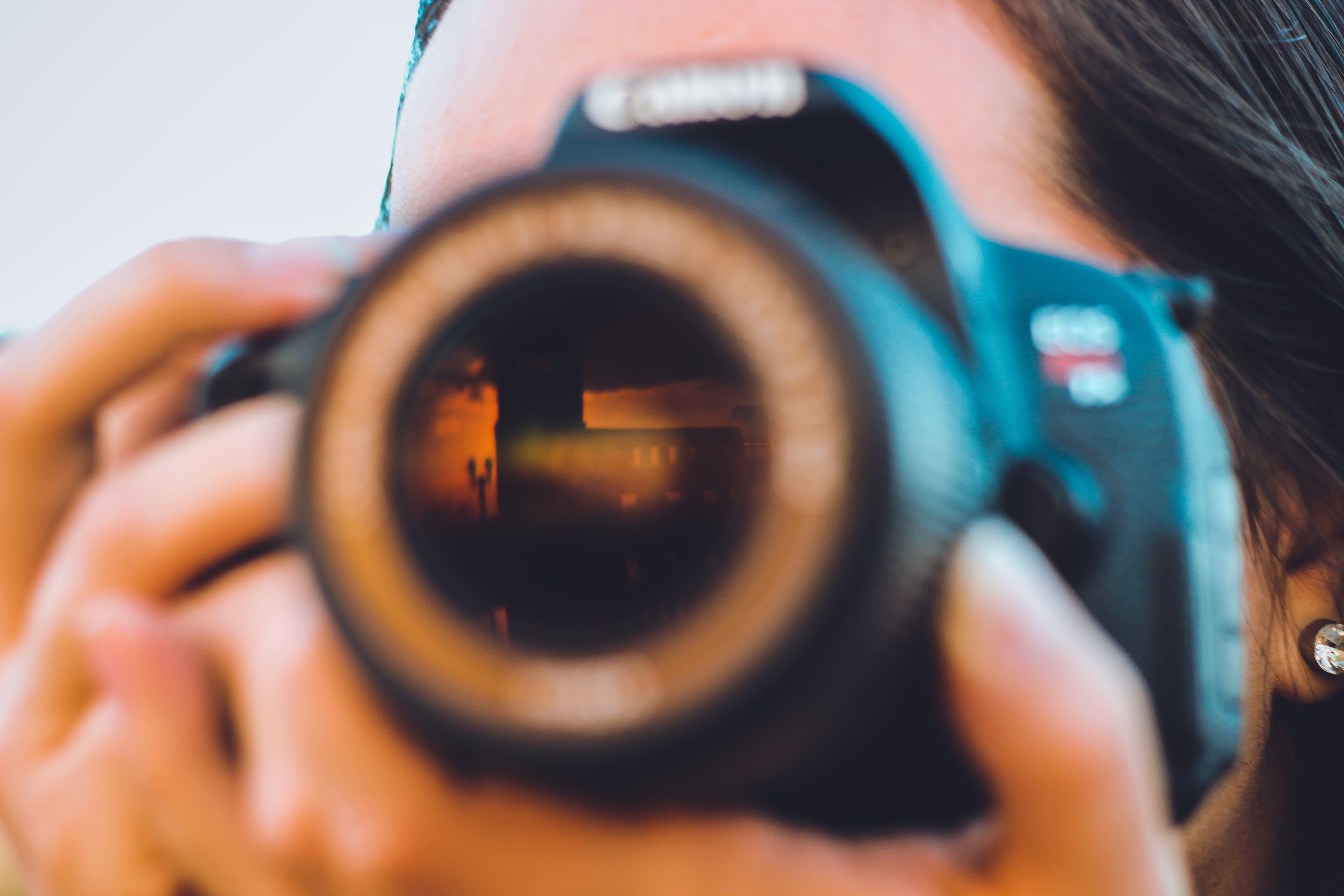 of camera lens, canon, click, len