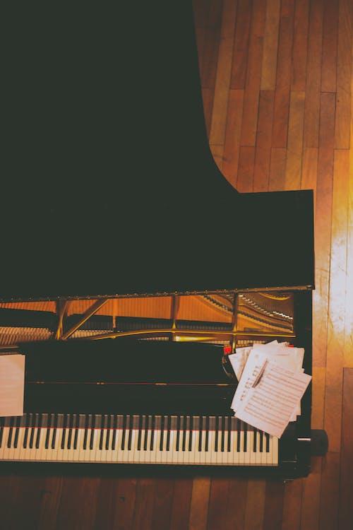 Kostnadsfri bild av musik, opera, piano, toppvy