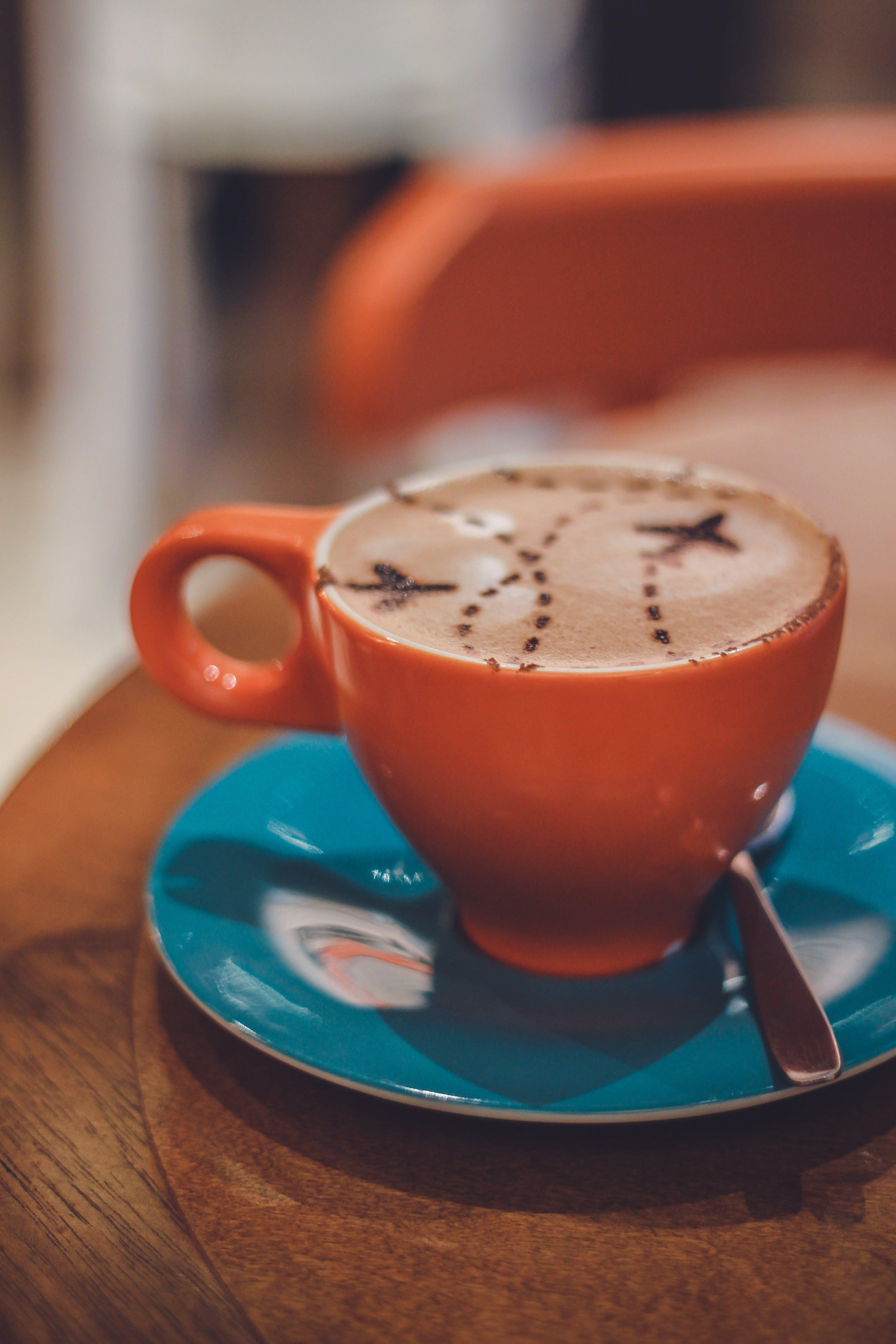 Orange Coffee Cup