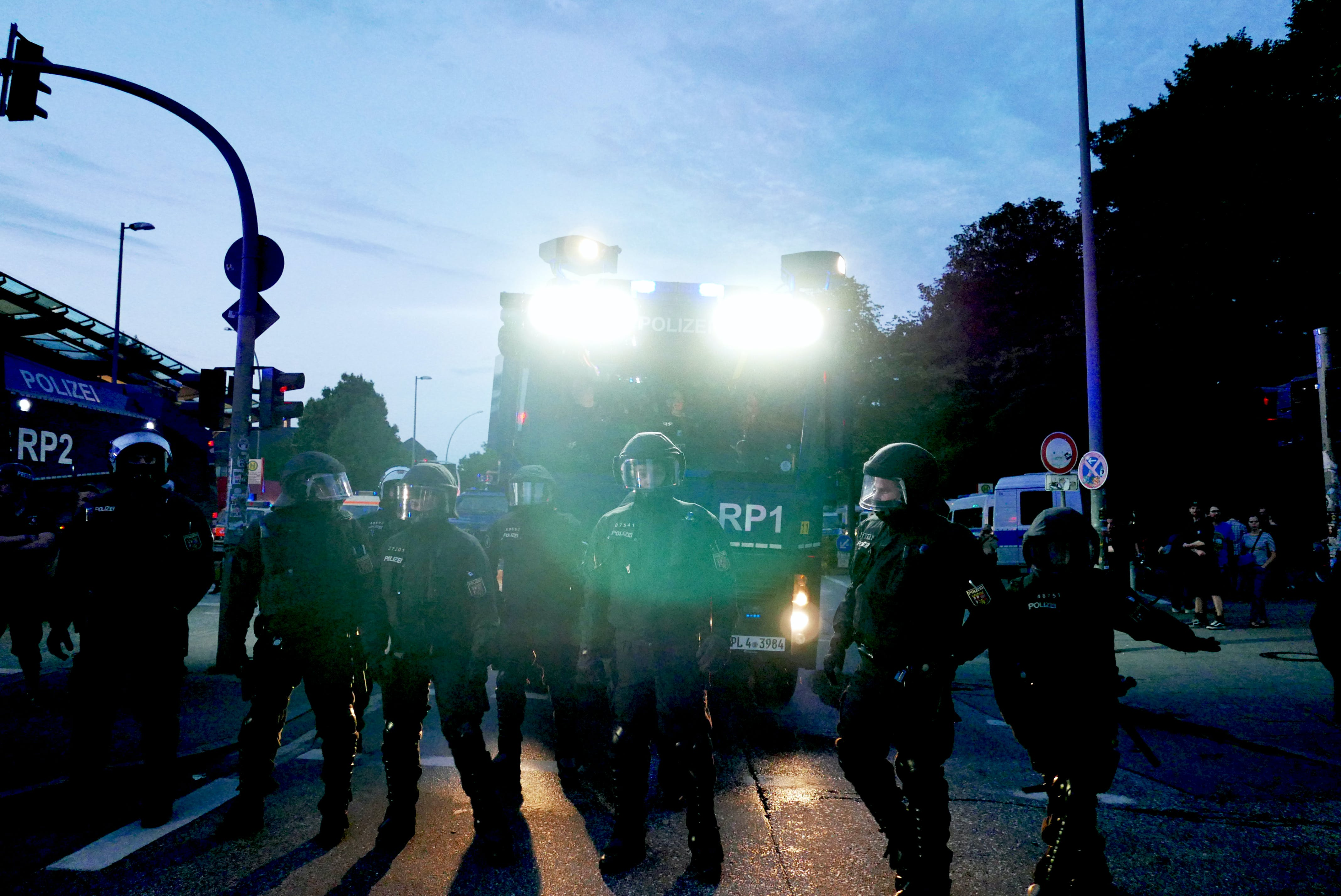 bundespolizei, editorial, g20