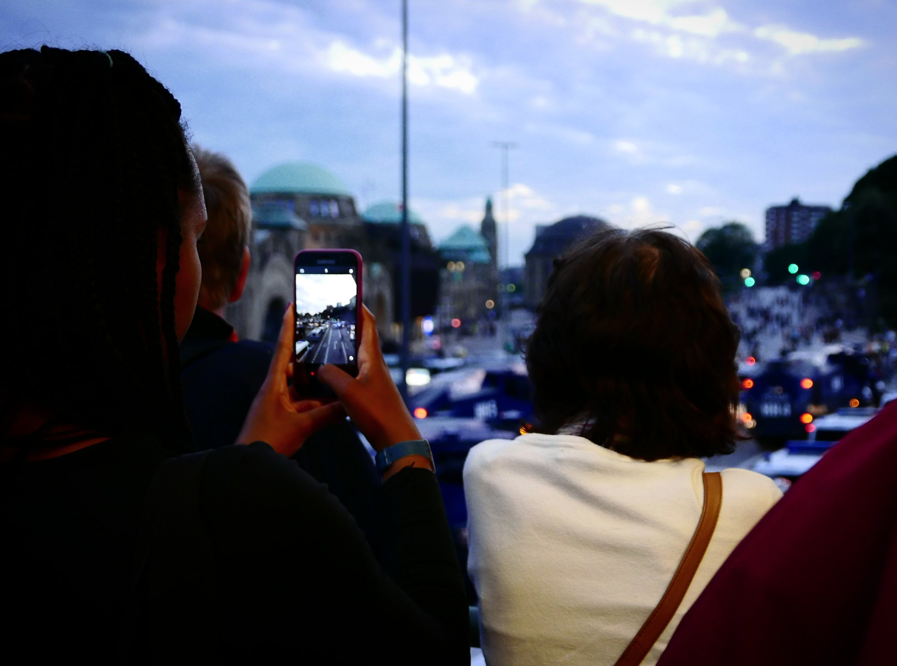 Free stock photo of cellphone, evening, g20, g20summit
