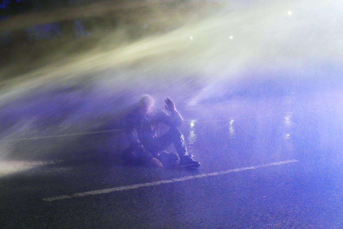 Kostnadsfri bild av bundespolizei, demonstranter, g20