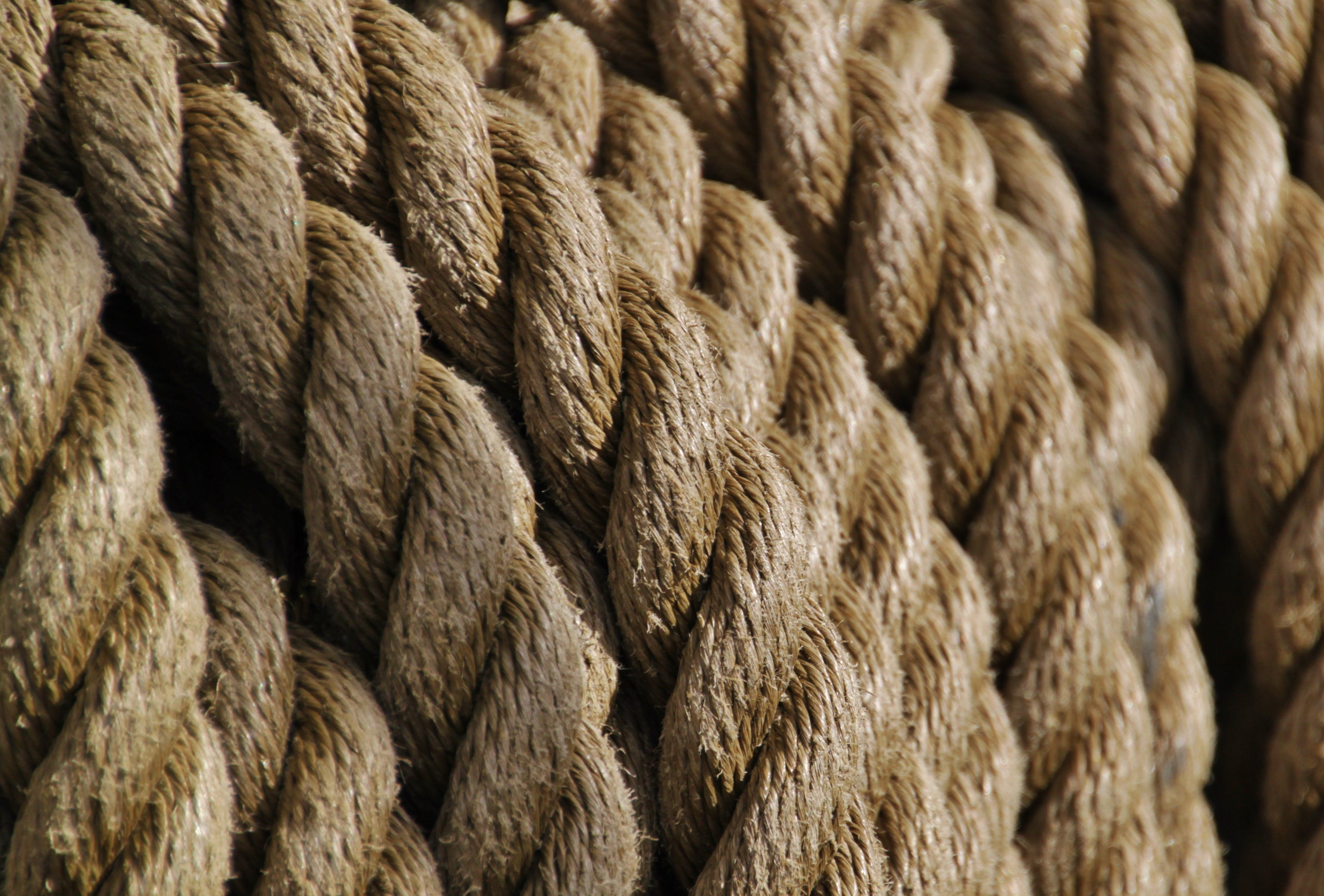 anyaman, tali, tali bengkok