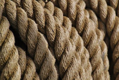 Kostenloses Stock Foto zu gedrehten seilen, seil, seile, strick
