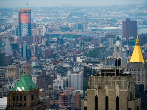 건물, 경치, 뉴욕의 무료 스톡 사진