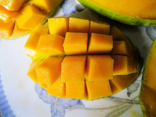 Free stock photo of Alphonso, artistic, Asian fruit, close-up