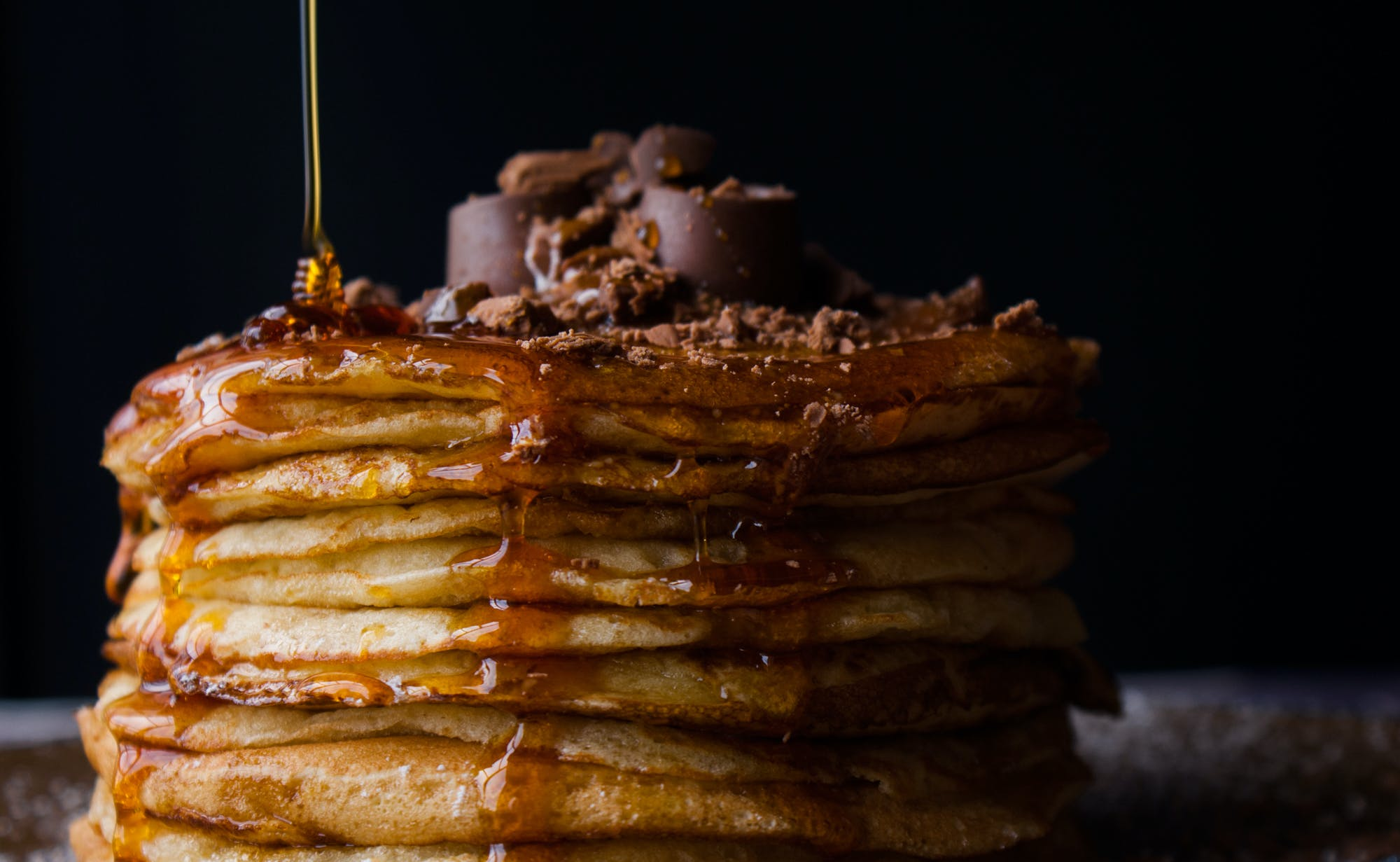 Free stock photo of food, chocolate, dessert, pancakes
