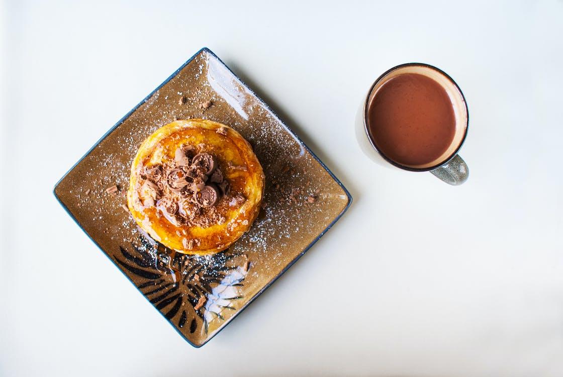 bevanda, cacao, cibo