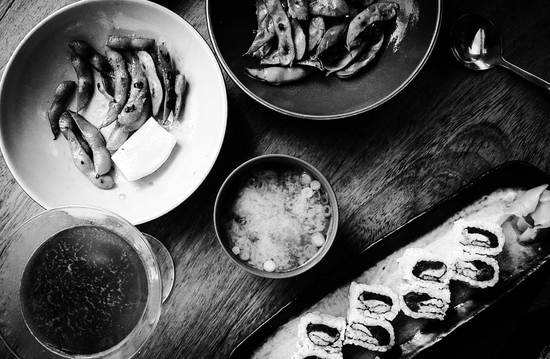 Darmowe zdjęcie z galerii z azjatycki posiłek, azjatyckie jedzenie, japońskie jedzenie, jedzenie