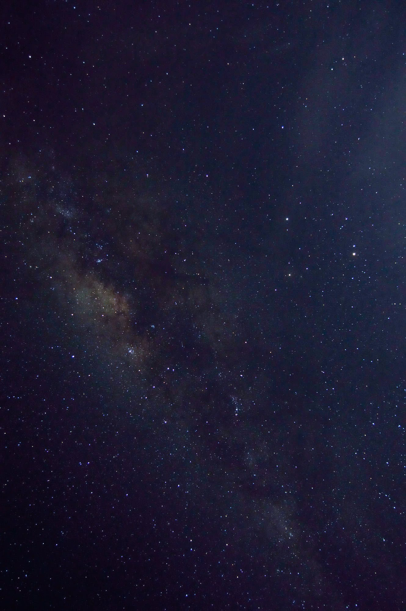 Milky Way Galaxy Seen on Sky